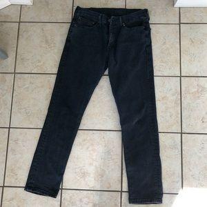 Men's LEVI'S skinny slim 511 dark wash Like New!